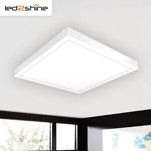 Details zu LED Panel Deckenleuchte 60x60 eckig 40W LED Panel neutralweiß  4000K Wohnzimmer