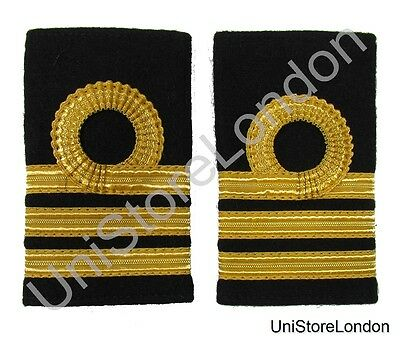 Epaulette Merchant Navy Chief officer Chief Mate Slip-on R867