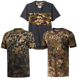 Adidas-Originals-Camouflage-The-Messieurs-Shirt-T-shirt-manches-courtes-camouflage