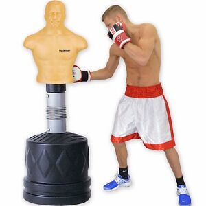 Free Standing Punch Bag Slam Man Dummy Body Boxing Partner