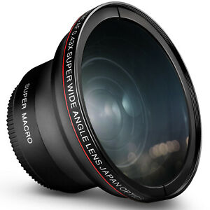 55MM-0-43x-Altura-Foto-Profesional-HD-Lente-Gran-Angular