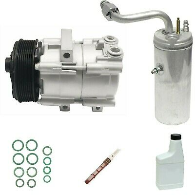 RYC Remanufactured Complete AC Compressor Kit EG473