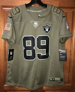 various colors 916a9 67698 Details about Nike Oakland Raiders Amari Cooper Salute To Service Women's  Jersey Size L