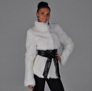 Coat Løst Women Warm Fur Outwear Bowknot Belt Parka V999 Winter Leopard Jakke wUwIqZ