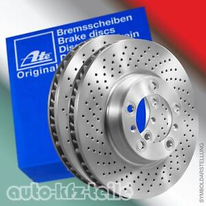 ATE-Bremsscheiben-GELOCHT-Mercedes-E-Klasse-W211-E-Klasse-T-Model-330mm-VORN