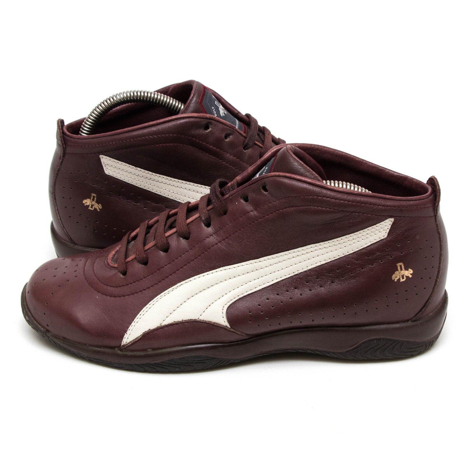 braune Puma Schuhe Gr. UK 9 *gebraucht, aber gut erhalten