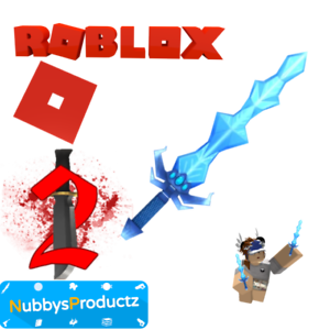 Roblox-Murder-Mystery-2-MM2-Ice-Dragon-Godly-Knife-Read-Desc