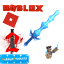 Roblox-Murder-Mystery-2-MM2-Ice-Dragon-Godly-Knife-Read-Desc miniatura 1
