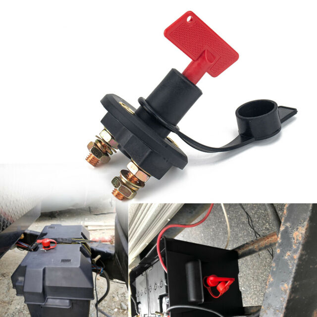 Battery Isolator Disconnect Cut off Power Kill Switch for ...