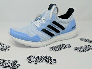 Details about Adidas Ultra Boost x GOT 4.0 Game Of Thrones White Walkers Black Blue EE3708