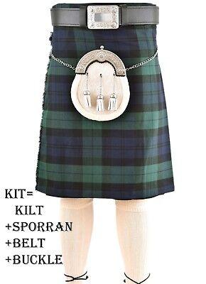 BOUCLE Royal Stewart Kilt Kilt CEINTURE LI-SCO-0107 Sporran