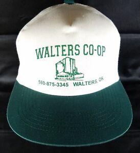 Grain-Elevator-Snapback-Hat-Walters-OK-Coop-Cap-Grain-Seed-Rural-Oklahoma