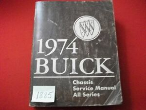1974-FACTORY-ISSUED-BUICK-CHASSIS-SERVICE-MANUAL-ALL-MODELS-ALL-SERIES