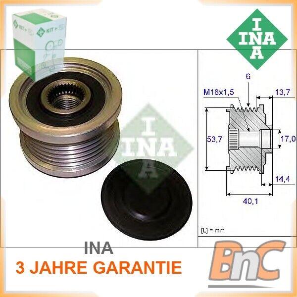 INA 535 0085 10 Generatorfreilauf für OPEL
