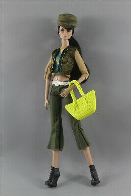New 4 PCS Fashion Handmade Clothes//Outfit Set For 11.5in.Doll Z40