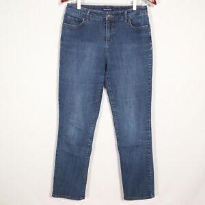 BANDOLINO-MANDIE-women-s-blue-jeans-s8-denim-straight-leg-AVERAGE-PERFECT