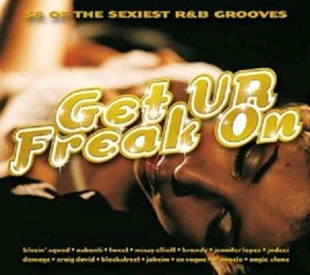 38 SEXIEST R & B GROOVES - GET YOUR FREAK ON Ur Audio Music CD URBAN New Sealed
