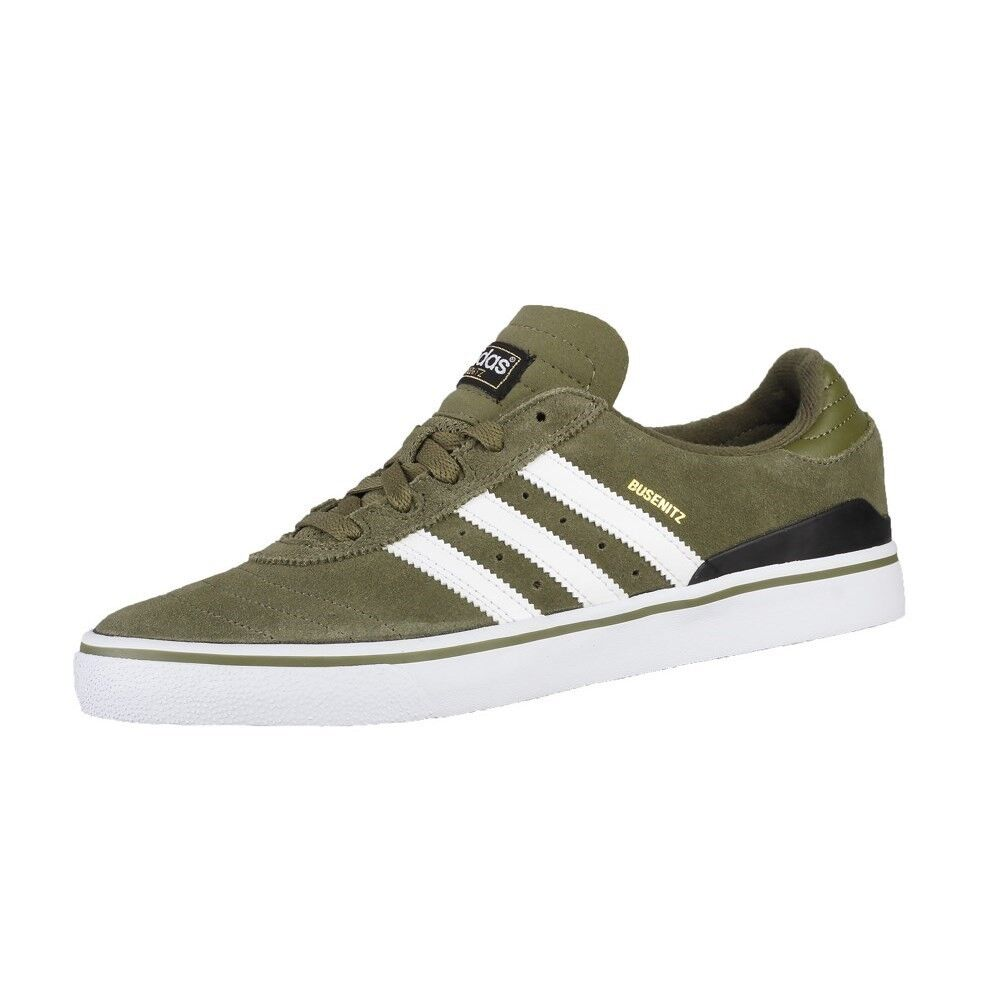 Adidas Originals Homme Busenitz Vulc ADV Skateboard Baskets Olive Cargo UK 7.5