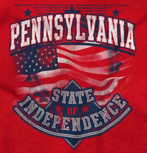 Pennsylvania State Of Independence USA Flag PA Souvenir Pullover Sweatshirt