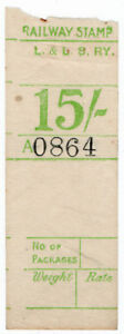 I-B-Londonderry-amp-Lough-Swilly-Railway-Parcel-Stamp-15