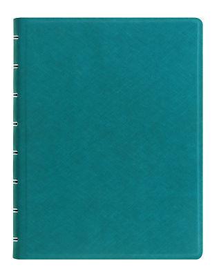 Filofax - A5 Saffiano Notebook Aqua Ricaricabile Elegante Nello Stile