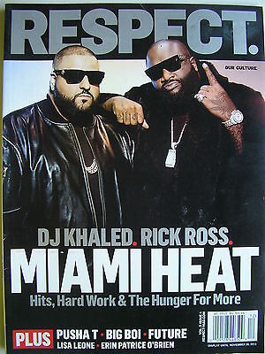 DJ KHALED &  RICK ROSS  2012 RESPECT Magazine   LISA LEONE  BIG BOI  FUTURE