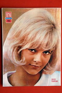 SYLVIE-VARTAN-ON-BACK-COVER-1966-RARE-EXYUGO-MAGAZINE