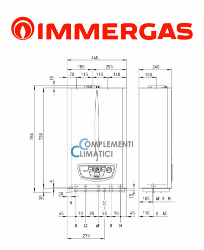 Immergas Mythos HP Boiler Condensation IN Methane 3.029801