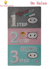 New Holika Holika Pig Nose Clear Black Head 3 Step Kits from US On Sales
