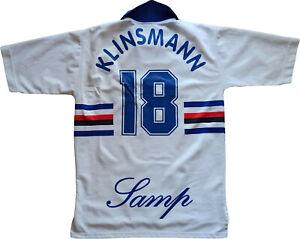 maglia Sampdoria Klinsmann 1997 1998 match jersey football SERIE A vintage shirt