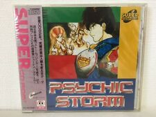 PC Engine Super CD Rom Psychic Storm Japan JP GAME New z2297