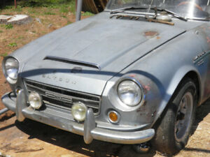 1967 Datsun 2000, plus many parts from Nissan