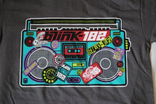 BLINK 182 CRAPPY PUNK ROCK TAPE EUROPEAN TOUR 2012 T SHIRT NEW OFFICIAL RARE