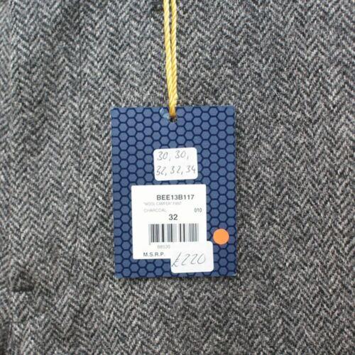NEW BBC Bee Line Grey Wool Trousers GENUINE RRP £220 BNWT
