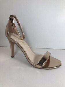 Madden Girl Ava Rose Gold Heels | eBay
