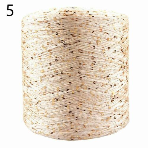 Mercerized Yarn Summer Ice Silk Special Sequin 700M 100g//Ball For DYI Hand Woven