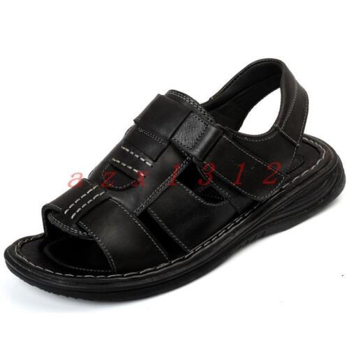 New Men Summer Open Toe casual sport Beach sandals shoes Flat Hollow Fashion Hot