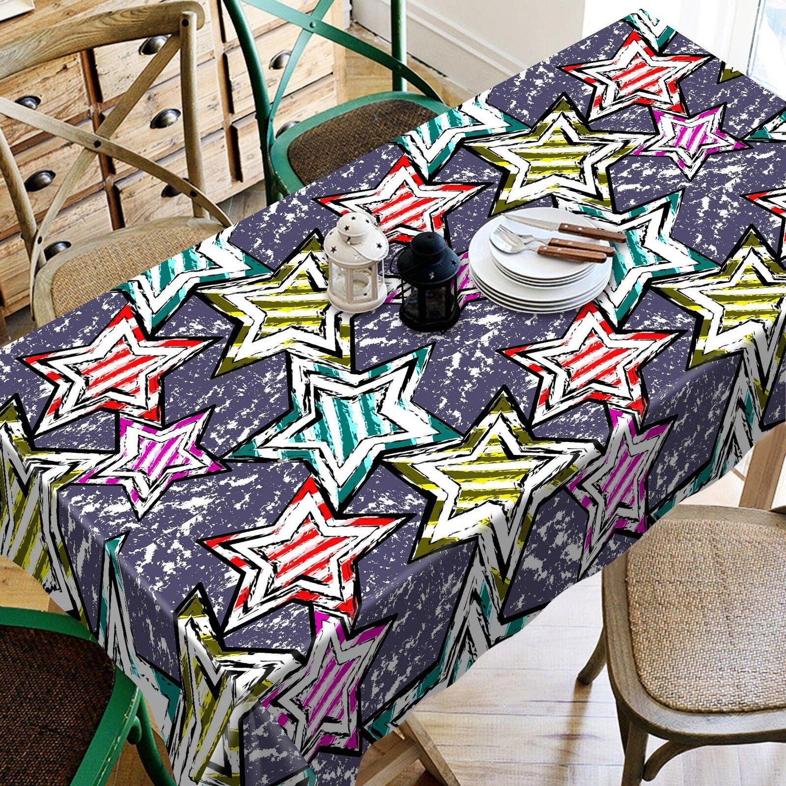 Estrella 3d 47 mantel mantel pañuelo fiesta de cumpleaños AJ wallpaper de Lemon