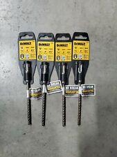 4 Pack Dewalt 316 X 4 X 6 12 Rock Carbide Sds Plus Hammer Bit Dw5403