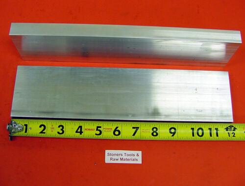 "2 Pieces 3//4/"" X 3-1//2/"" ALUMINUM 6061 FLAT BAR 12/"" long T6511 Plate Mill Stock"