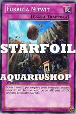Yu-Gi-Oh! Furbizia Nitwit Italiano STARFOIL SP13-IT038 Fortissima carta Zexal