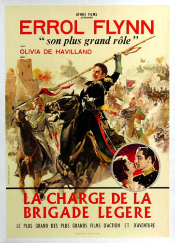 The charge of the light brigade Errol Flynn poster print 13