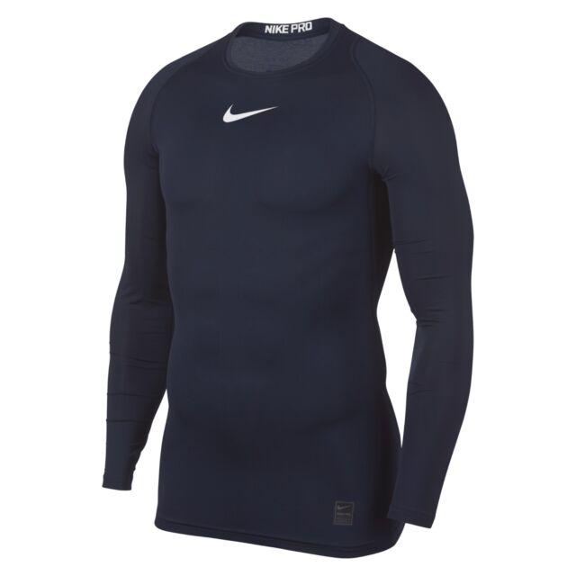 32c778e4 Nike Pro Combat 2.0 Men's Compression Long Sleeve Dri-fit Shirt M Blue.  About this product. Picture 1 of 3; Picture 2 of 3; Picture 3 of 3. Picture  2 of 3