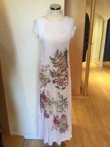 Aldo-Martins-Dress-Size-14-BNWT-Winter-White-Pink-Green-RRP-218-Now-76