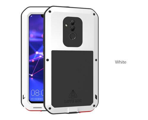 Armadura de metal Alumnium a prueba de choques impermeable Caso para Huawei Mate 20 Lite Love Mei