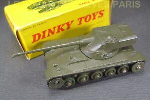DINKY-TOYS-Francia-AMX-13-caja-REF-817-dos-guijarros-delantero-de-plastico