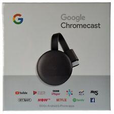 Google Chromecast 3 Digital HDMI Media Video Streamer 2018 Charcoal GA00439-US