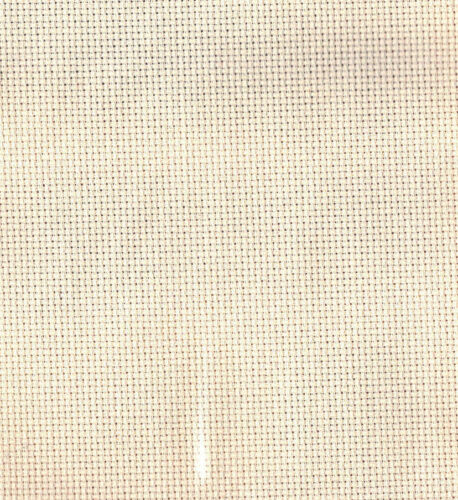 Pieces of 18 Count Aida Cross Stitch Fabric Choose Colour and Size NEW!