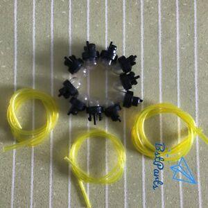 10-Primer-Bulb-Fuel-Line-For-Ryobi-Stihl-Mcculloch-Talon-Trimmer-Whipper-Snipper