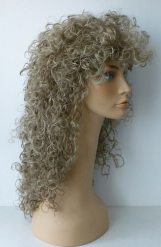 flash back to your 80/'s days lots of volume 80/'s Big Hair Wig
